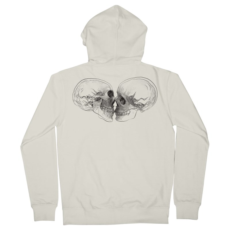 Boning Men's Zip-Up Hoody by benk's shop