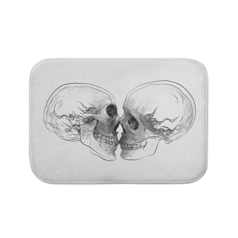 Boning Home Bath Mat by benk's shop