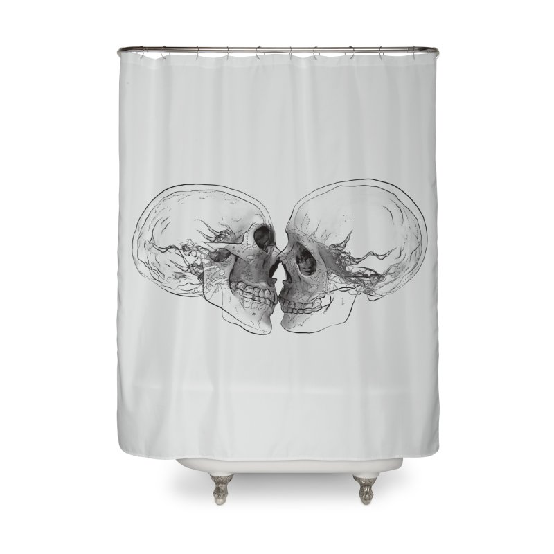 Boning Home Shower Curtain by benk's shop