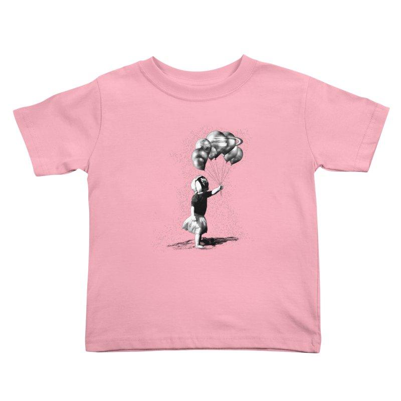 Petit Princesse Kids Toddler T-Shirt by benk's shop