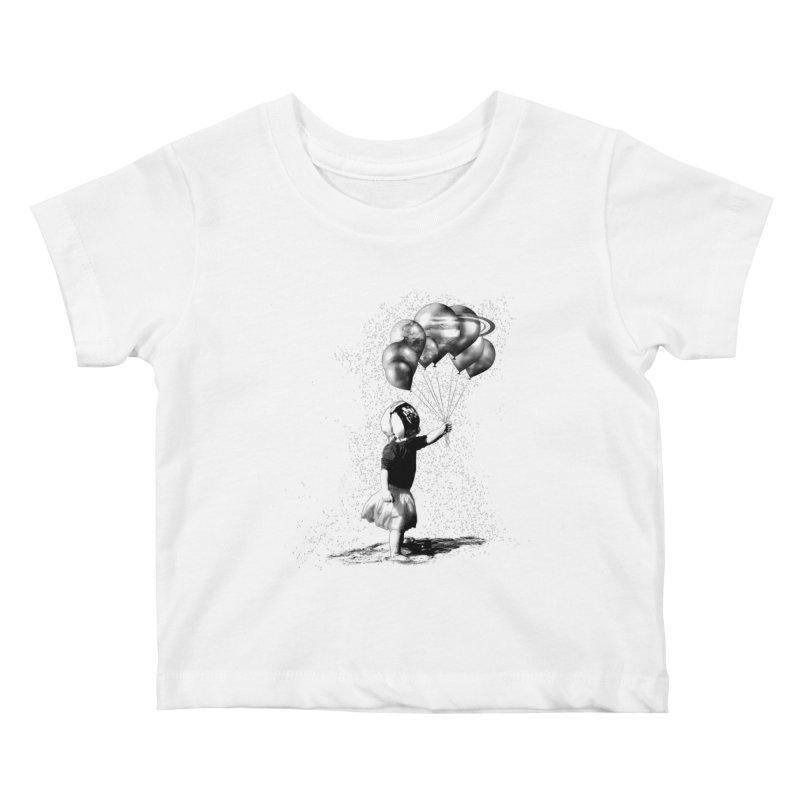 Petit Princesse Kids Baby T-Shirt by benk's shop