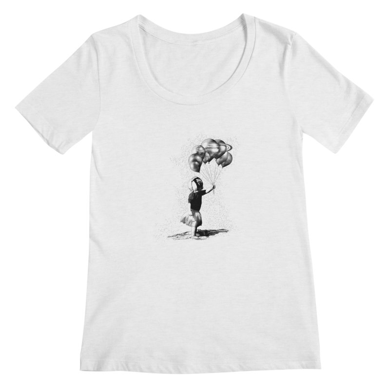 Petit Princesse Women's Scoopneck by benk's shop