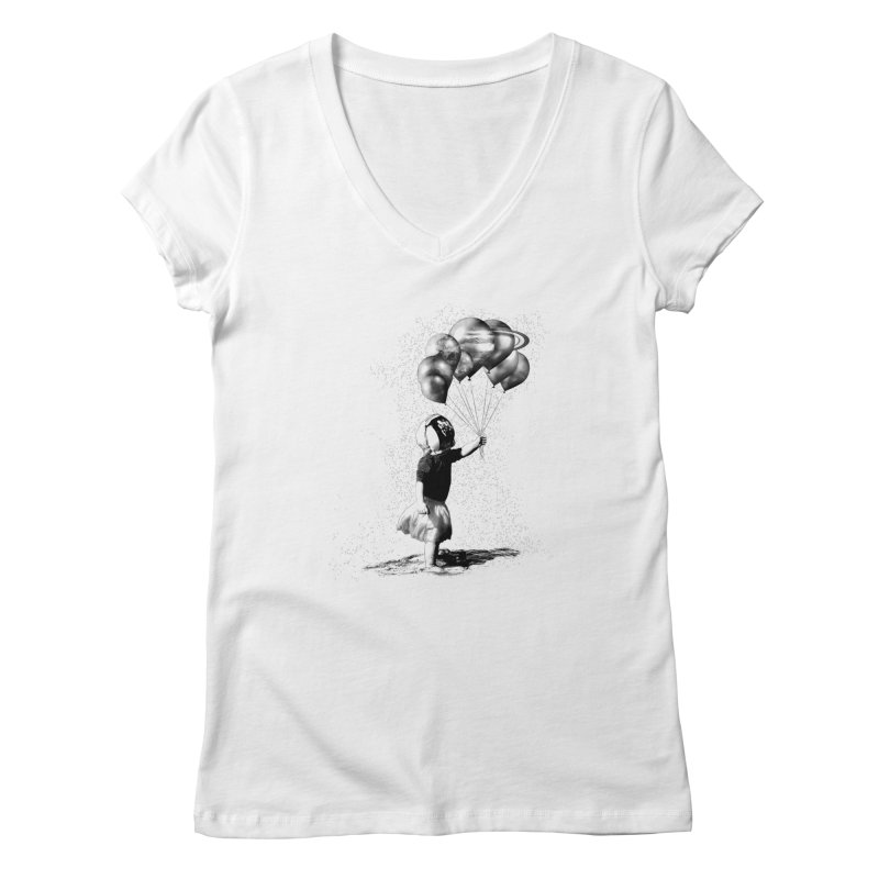 Petit Princesse Women's V-Neck by benk's shop