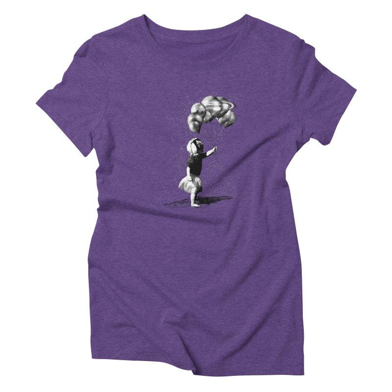Petit Princesse Women's Triblend T-Shirt by benk's shop
