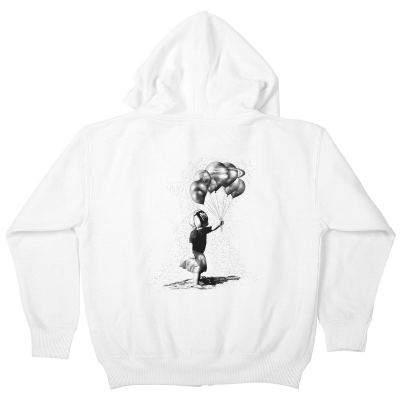 Petit Princesse Kids Zip-Up Hoody by benk's shop