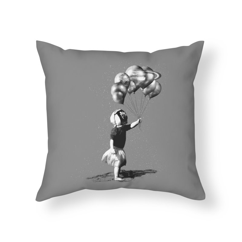 Petit Princesse Home Throw Pillow by benk's shop