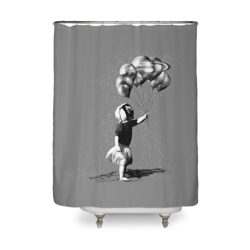 Petit Princesse Home Shower Curtain by benk's shop