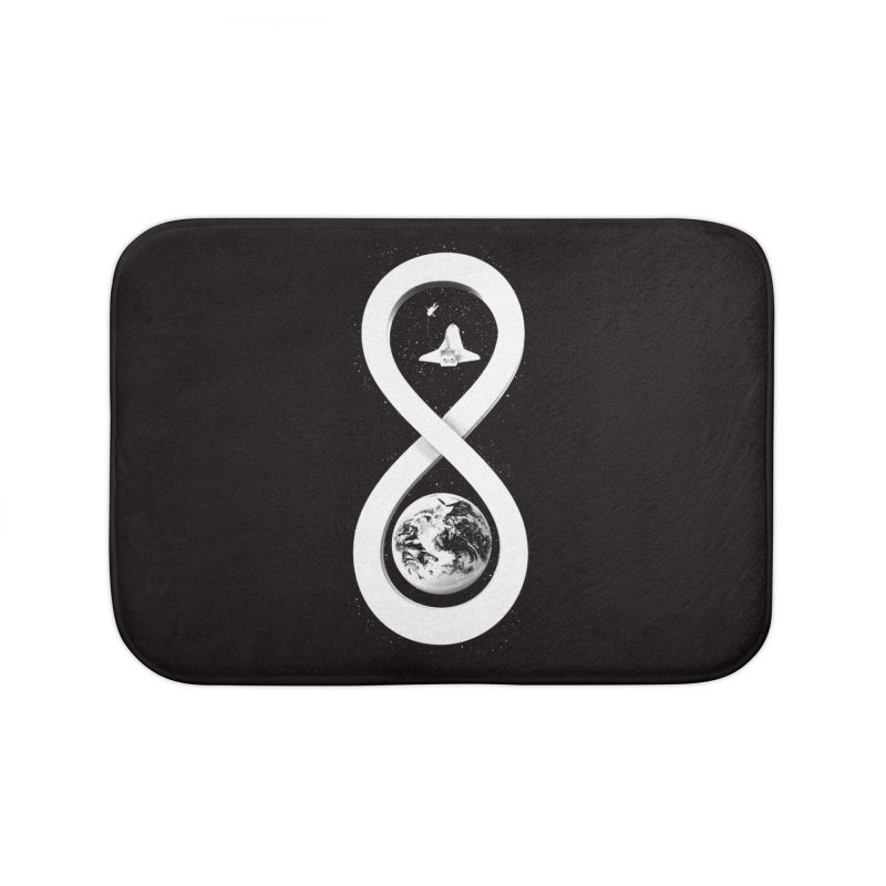 Infinite Exploration Home Bath Mat by benk's shop