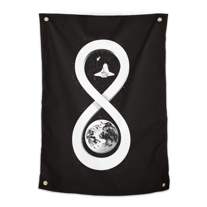 Infinite Exploration Home Tapestry by benk's shop