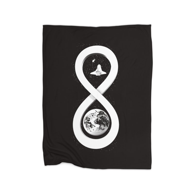 Infinite Exploration Home Blanket by benk's shop