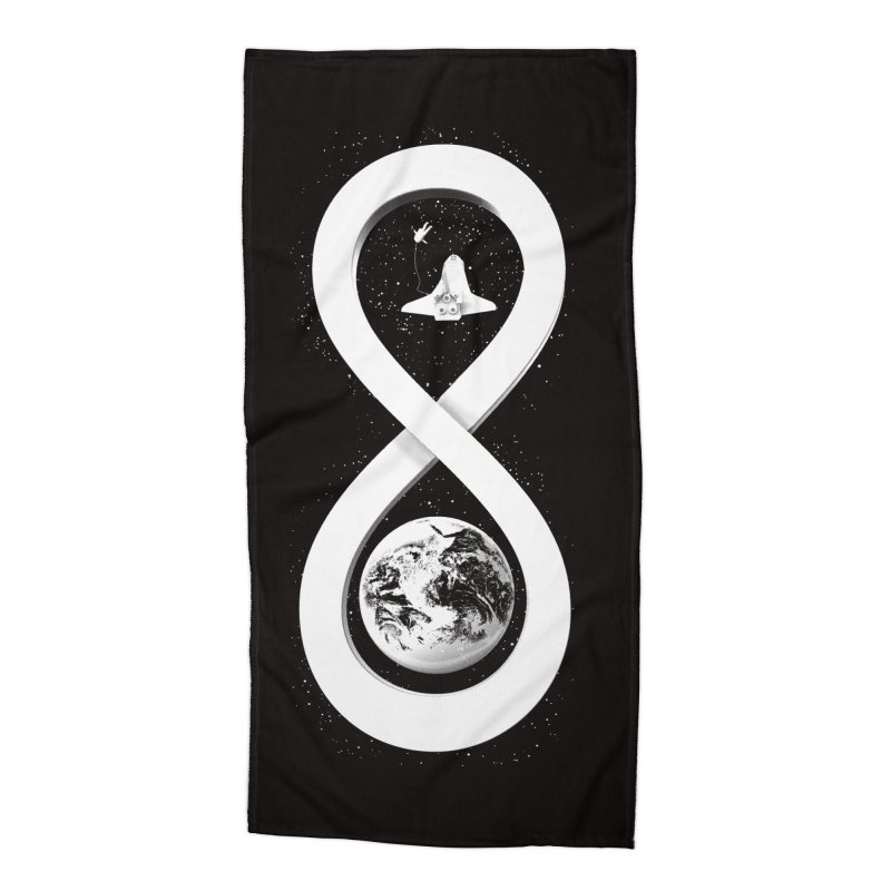Infinite Exploration Accessories Beach Towel by benk's shop