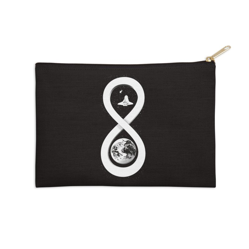 Infinite Exploration Accessories Zip Pouch by benk's shop