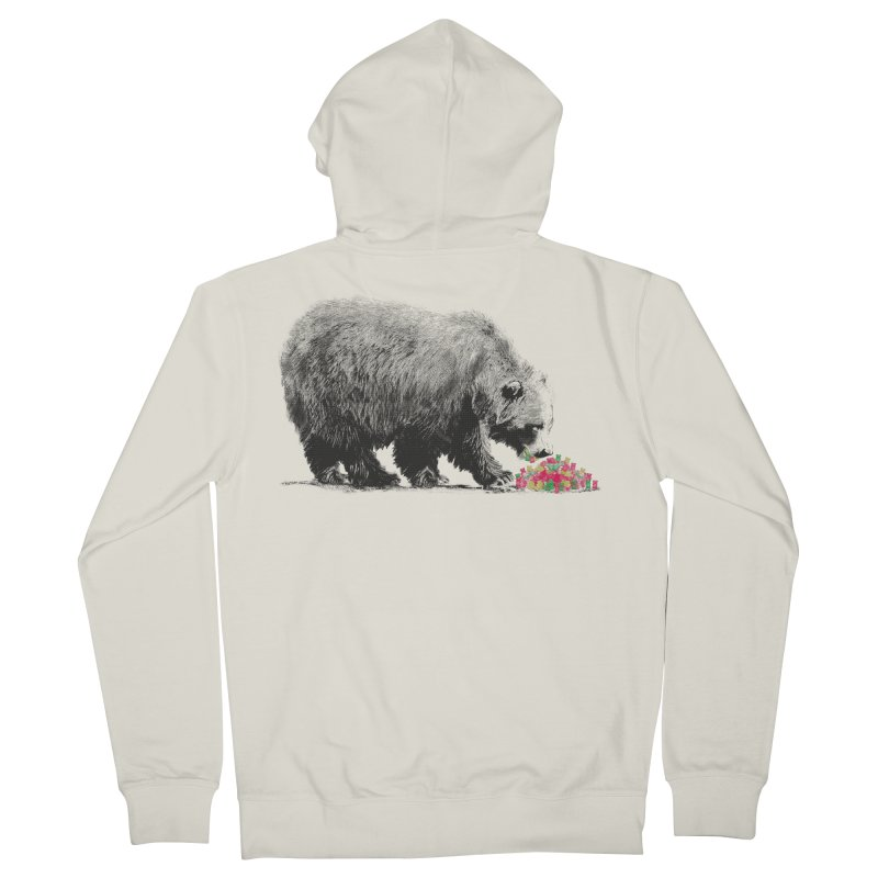 Cannibalism Men's Zip-Up Hoody by benk's shop