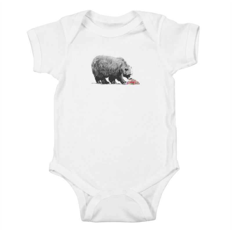 Cannibalism Kids Baby Bodysuit by benk's shop