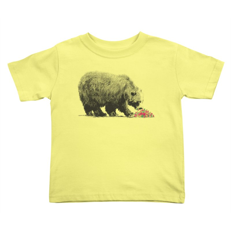Cannibalism Kids Toddler T-Shirt by benk's shop