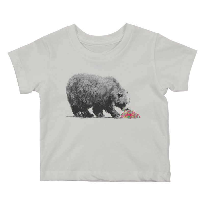 Cannibalism Kids Baby T-Shirt by benk's shop