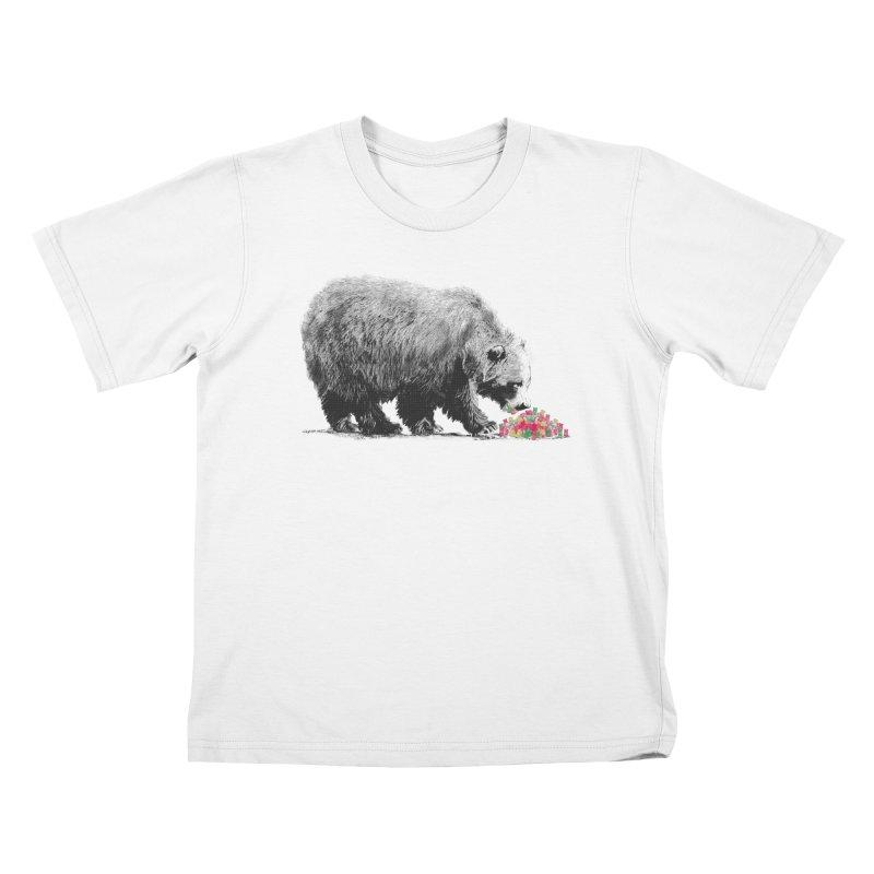 Cannibalism Kids T-Shirt by benk's shop
