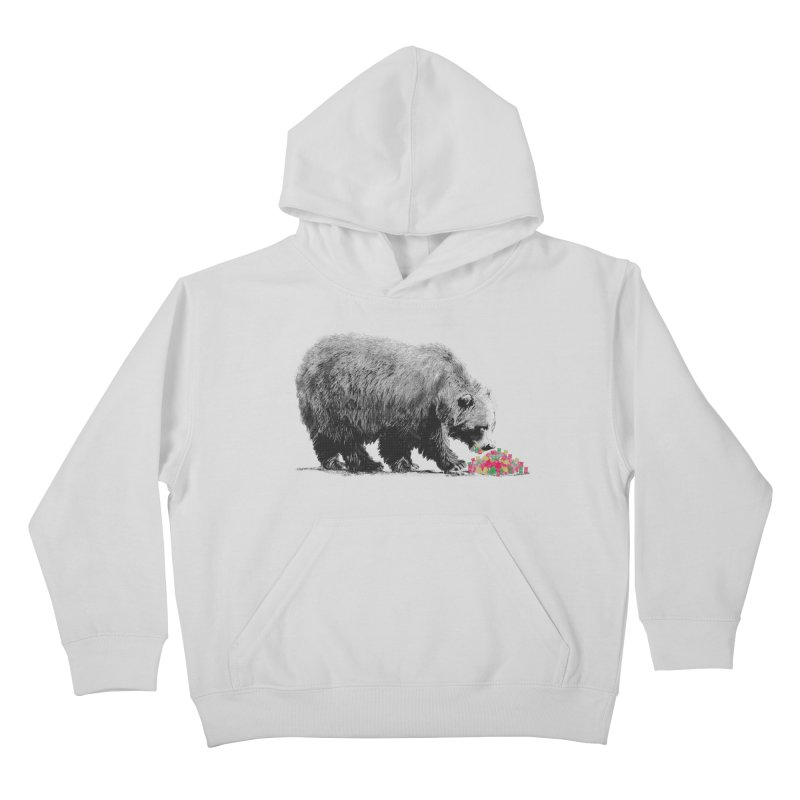 Cannibalism Kids Pullover Hoody by benk's shop
