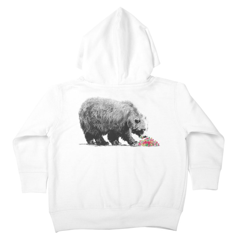 Cannibalism Kids Toddler Zip-Up Hoody by benk's shop