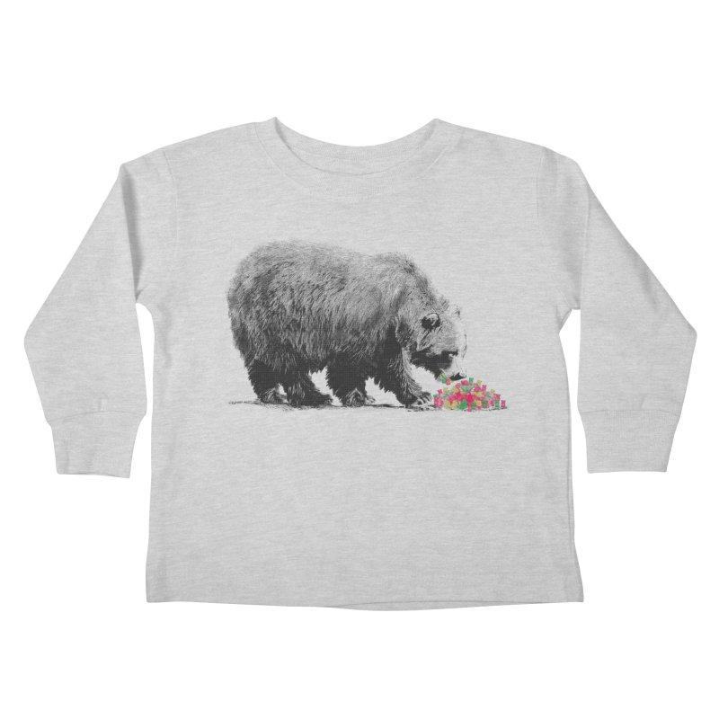Cannibalism Kids Toddler Longsleeve T-Shirt by benk's shop