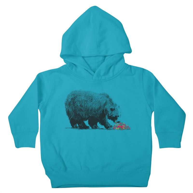 Cannibalism Kids Toddler Pullover Hoody by benk's shop