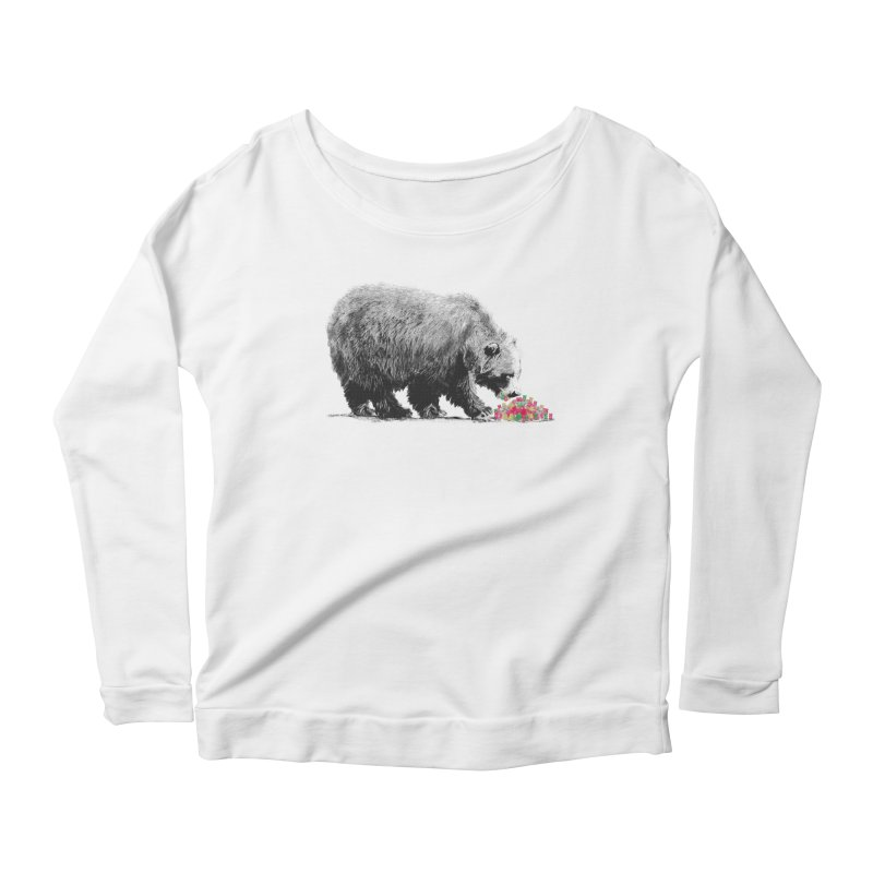 Cannibalism Women's Longsleeve Scoopneck  by benk's shop