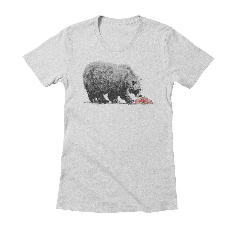 Cannibalism Women's Fitted T-Shirt by benk's shop