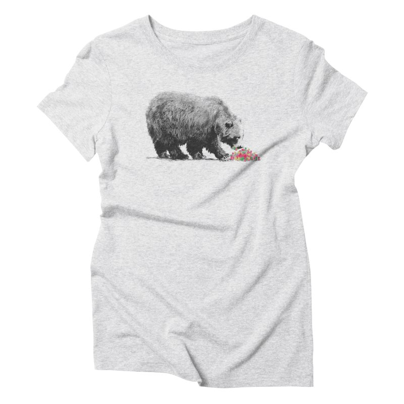 Cannibalism Women's Triblend T-shirt by benk's shop