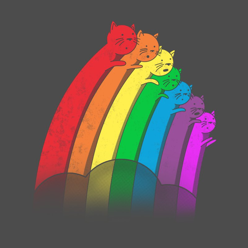 Rainbow Cats by benk's shop