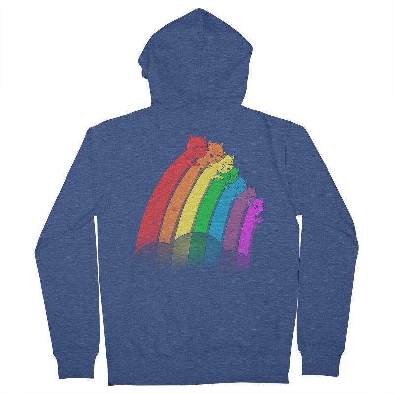 Rainbow Cats Women's Zip-Up Hoody by benk's shop