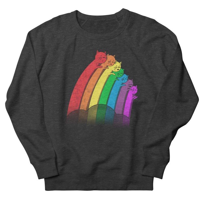 Rainbow Cats Women's French Terry Sweatshirt by benk's shop