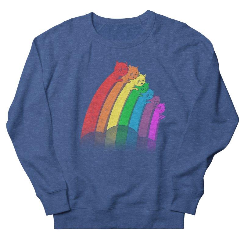Rainbow Cats Women's Sweatshirt by benk's shop