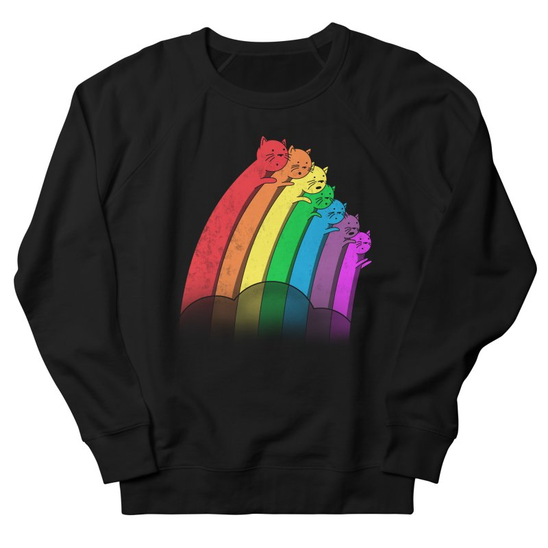 Rainbow Cats Men's Sweatshirt by benk's shop