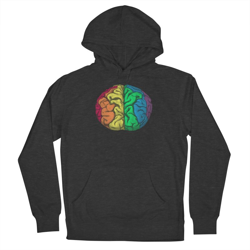 Open Minded Men's French Terry Pullover Hoody by benk's shop