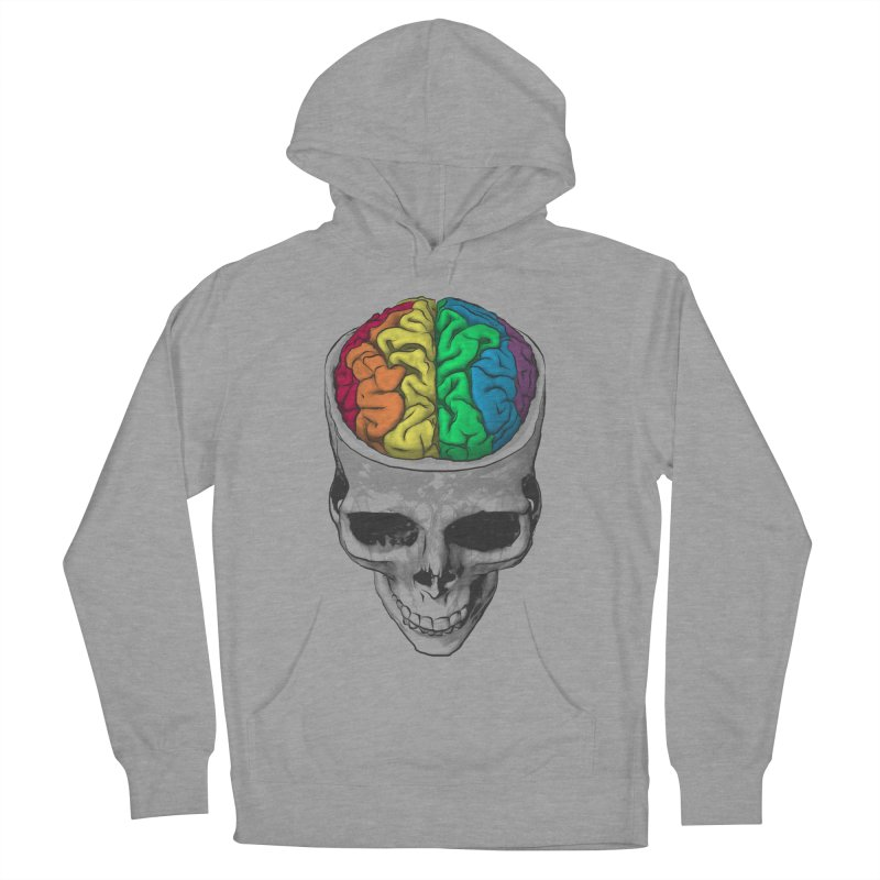 Open Minded Men's Pullover Hoody by benk's shop