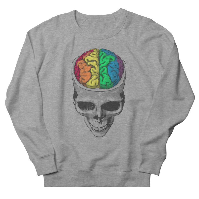 Open Minded Men's French Terry Sweatshirt by benk's shop