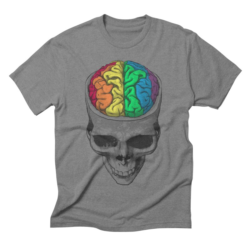 Open Minded Men's Triblend T-shirt by benk's shop