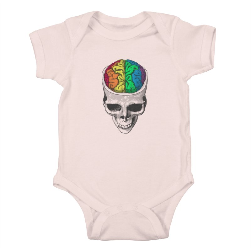 Open Minded Kids Baby Bodysuit by benk's shop