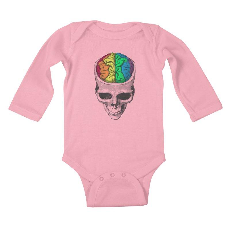 Open Minded Kids Baby Longsleeve Bodysuit by benk's shop