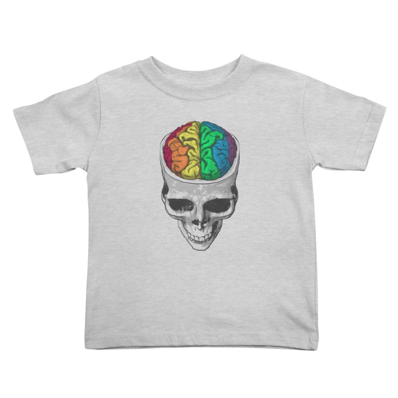 Open Minded Kids Toddler T-Shirt by benk's shop
