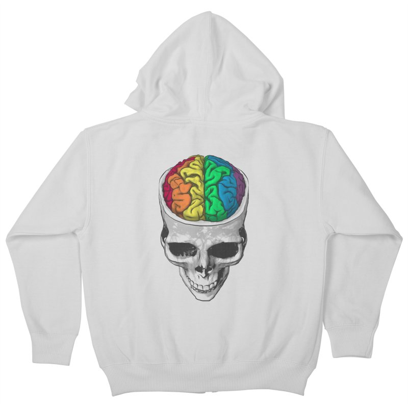 Open Minded Kids Zip-Up Hoody by benk's shop