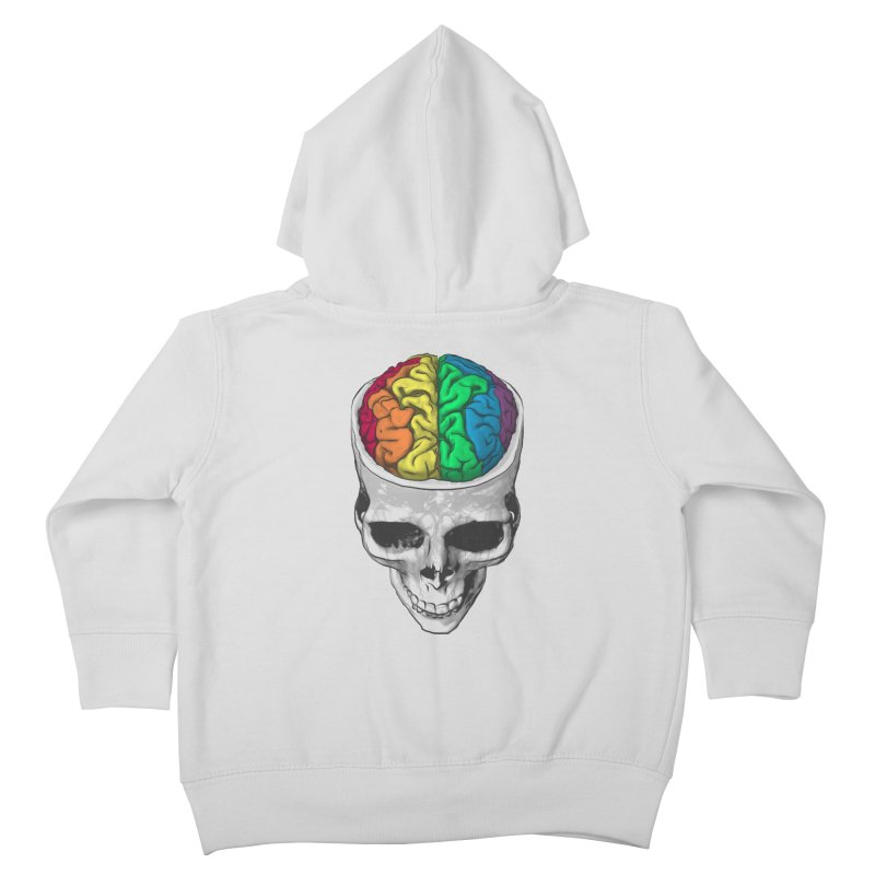 Open Minded Kids Toddler Zip-Up Hoody by benk's shop