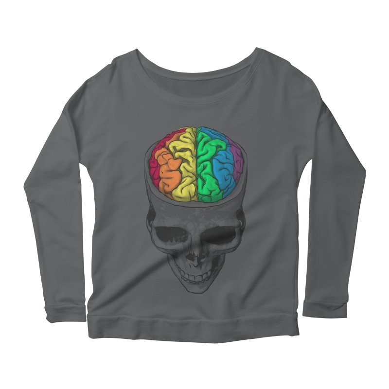 Open Minded Women's Longsleeve Scoopneck  by benk's shop