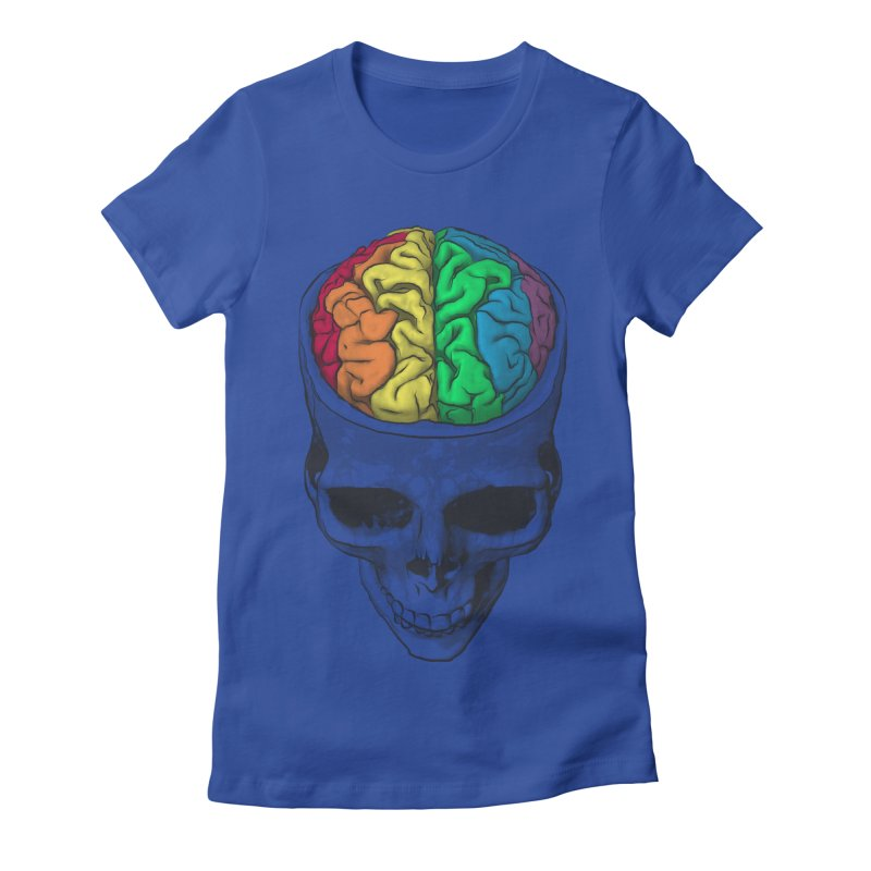Open Minded Women's Fitted T-Shirt by benk's shop