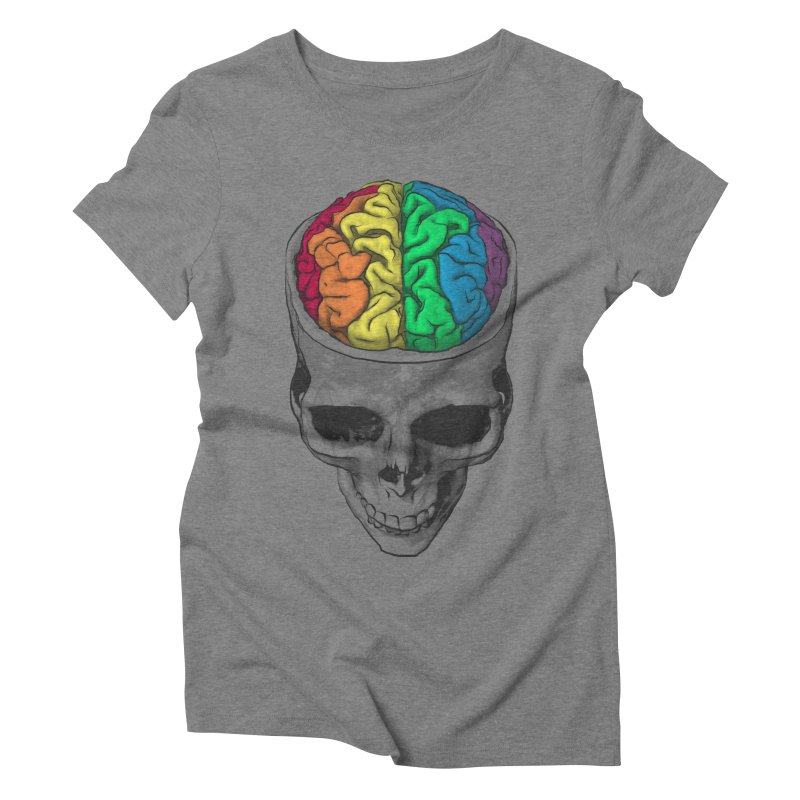 Open Minded Women's Triblend T-shirt by benk's shop