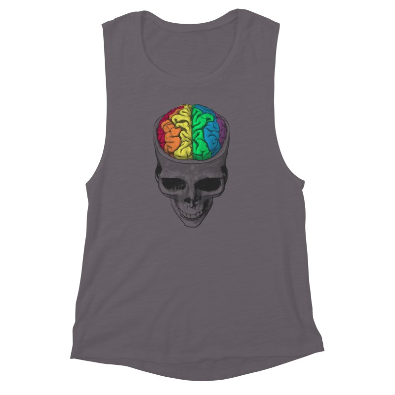 Open Minded Women's Muscle Tank by benk's shop