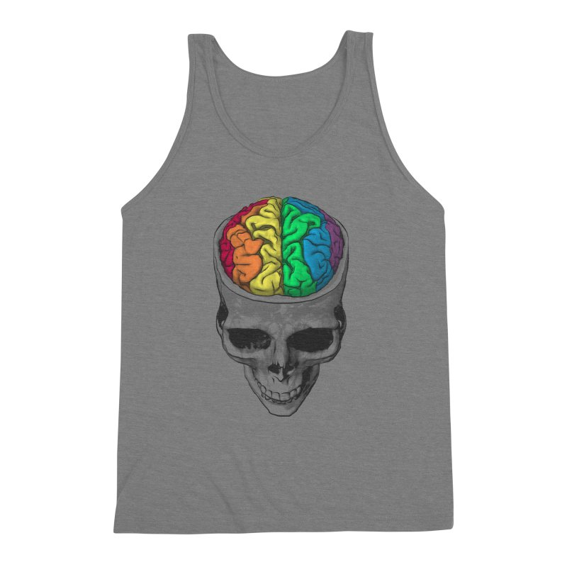 Open Minded Men's Triblend Tank by benk's shop