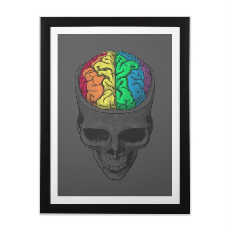 Open Minded Home Framed Fine Art Print by benk's shop