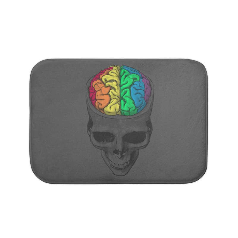 Open Minded Home Bath Mat by benk's shop