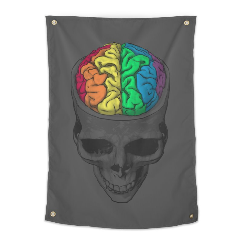 Open Minded Home Tapestry by benk's shop